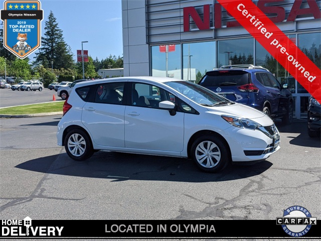 Certified Pre-Owned 2019 Nissan Versa Note SV