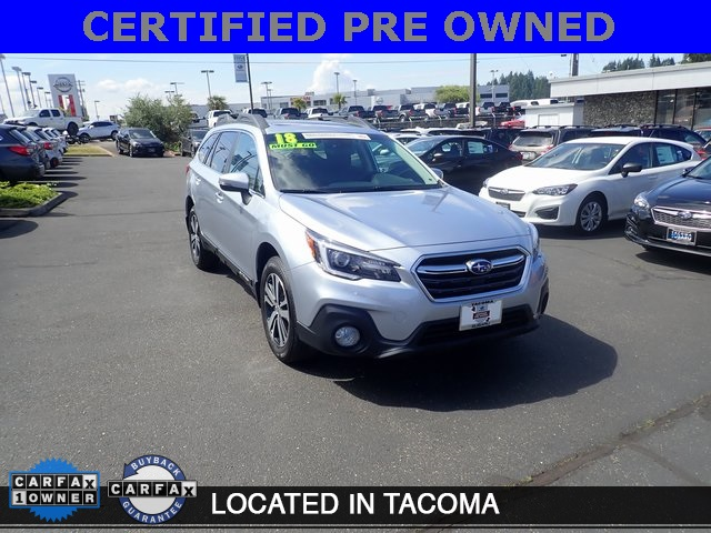 Subaru Certified Pre-Owned >> Certified Pre Owned 2018 Subaru Outback 2 5i 4d Sport Utility In