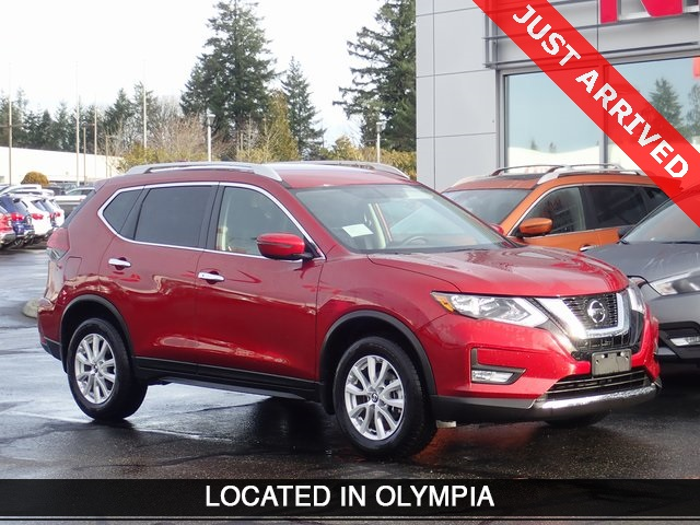 Certified Pre-Owned 2018 Nissan Rogue SV
