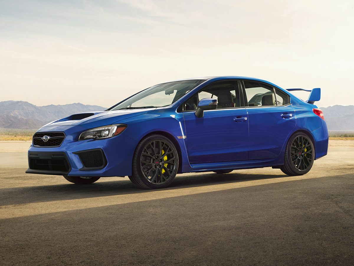 New 2018 Subaru Wrx Sti 4d Sedan In Tacoma J9831901 Bruce Titus