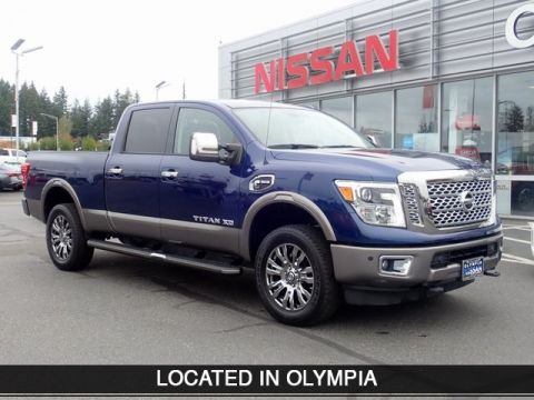 Pre-Owned 2016 Nissan Titan XD Platinum Reserve