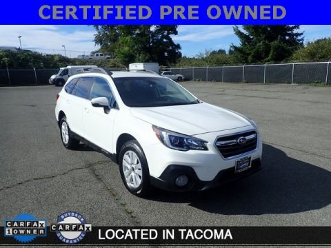Certified Pre-Owned 2018 Subaru Outback 2.5i